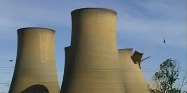 Atomkraftwerk in England gesprengt