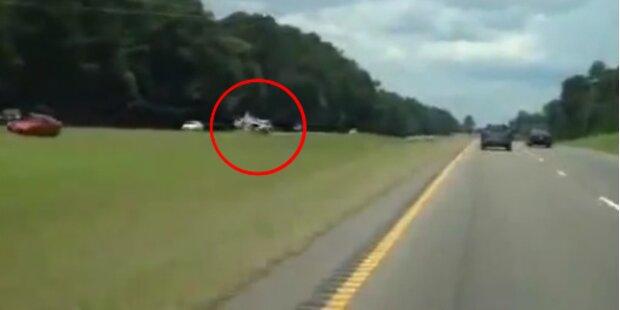 Horror Geisterfahrt endet mit Crash auf Highway