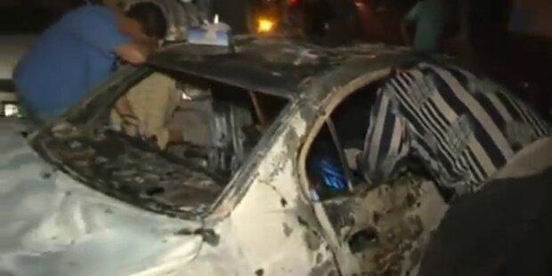 Schießerei mit Verdächtigen in Tripolis