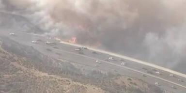 Buschfeuer wüten in Kalifornien
