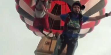 Ballonfahrer rettet 5 Fallschirmspringer - und stirbt