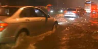 China: Heftige Regenfälle fordert 20 Tote
