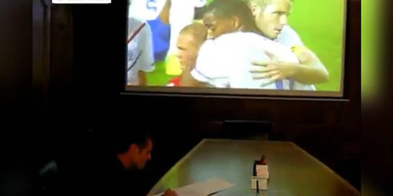 Marcel Koller beobachtete Österreichs U21-Team