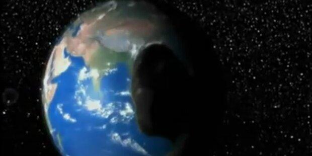 Kollision mit Asteroid im Februar 2013?