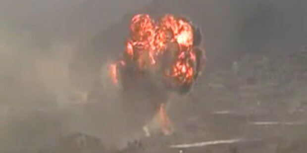 Tausende Rebellen in Damaskus - Angst vor Giftgasanschlag steigt.
