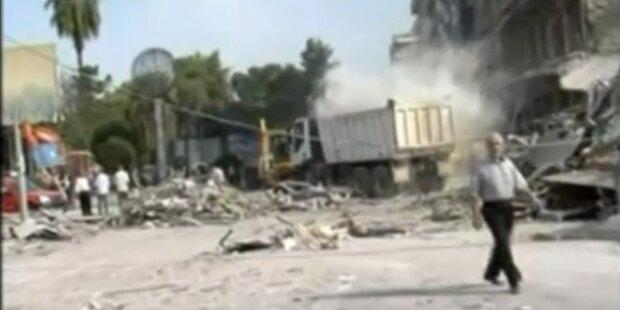 Syrien: 40 Tote nach Bombenexplosion
