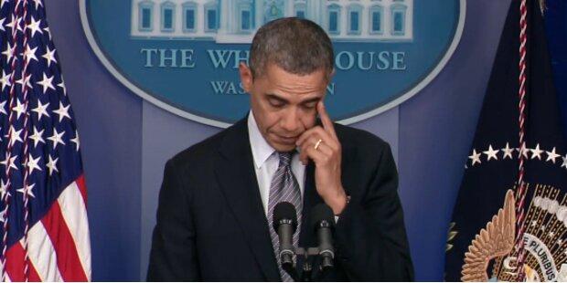 Emotionale Trauerrede des Präsidenten