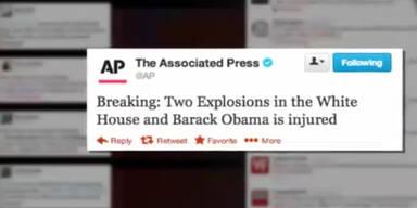 Falscher Tweet über Obama