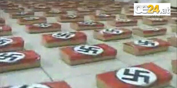 Koks-Pakete mit Hakenkreuzen entdeckt