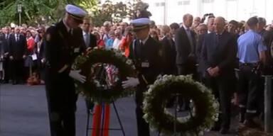 Norwegen gedenkt der Opfer Anders Behring Breiviks