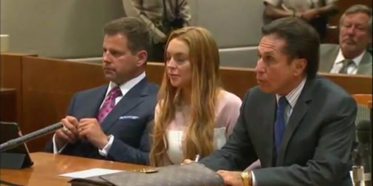 Lindsey Lohan muss in geschlossenen Drogenentzug