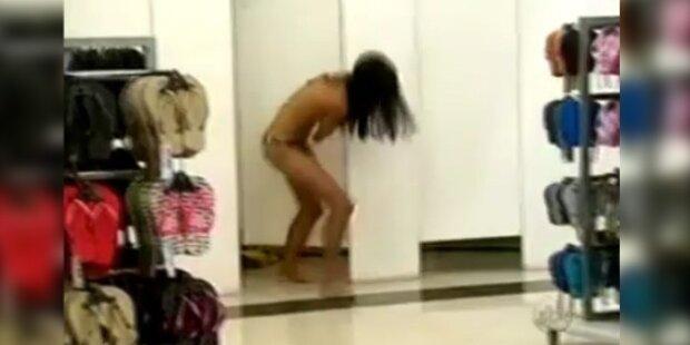 Ratten-Alarm in brasilianischer Umkleidekabine