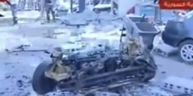 Autobombe in Damaskus: mindestens 10 Tote