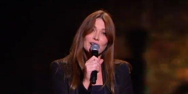 Comeback: Carla Bruni singt wieder