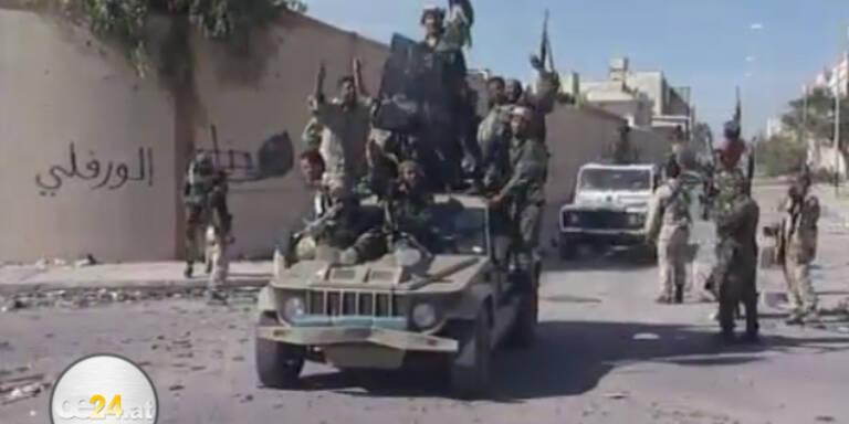 Sirte - Heimatstadt Gaddafi´s  endgültig befreit
