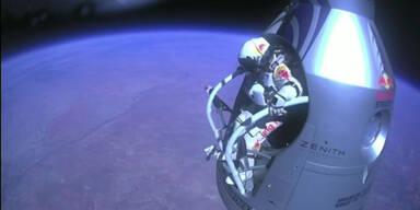 Das war Baumgartners Stratos-Jump