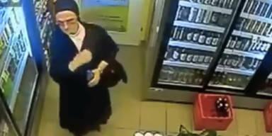 Nonne beim Bier-Diebstahl erwischt
