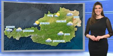 Das Wetter heute: Im Westen teils regnerisch, sonst überwiegend sonnig