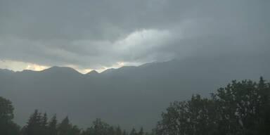 In ganz Österreich drohen heftige Unwetter