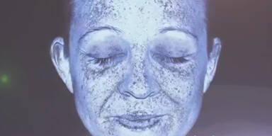 UV-Kamera zeigt Sonnenschäden