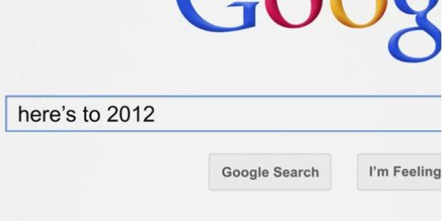 Die meistgesuchtesten Google - Begriffe 2012