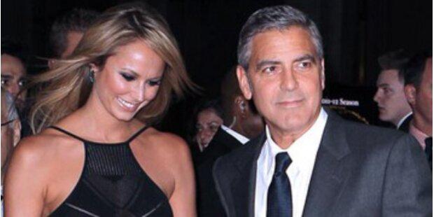 Clooney & Keibler: Ihr erster Paarlauf