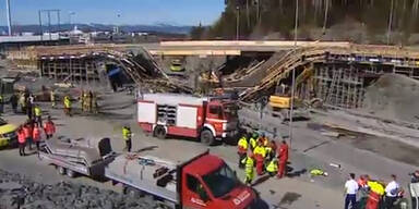 Zwei Tote - Brücke in Norwegen stürzt ein