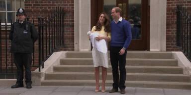 """Kates Baby: Ihr erster """"Pressetermin"""""""