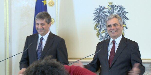 Erster Ministerrat 2012 im Zeichen des Sparens