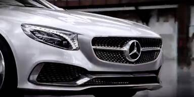 Das neue Mercedes S-Klasse Coupé