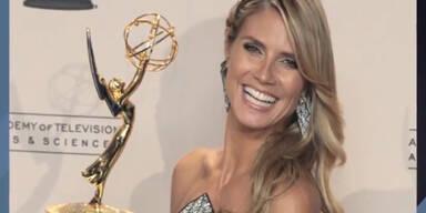 Heidi Klum - Ihr Emmy-Glück!