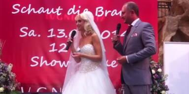 Spatzi spricht über ihr Hochzeitskleid