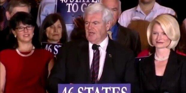 Romney triumphiert klar vor Gingrich