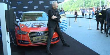 Gaultier präsentiert das Life Ball-Auto