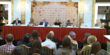 Pressekonferenz des Life Ball