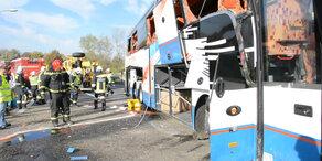 Busunfall auf S1