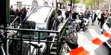 Fahrer verwechselt U-Bahn mit Parkgarage