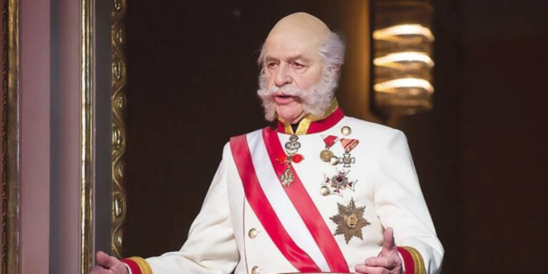 Harald Serafin ist der Kaiser Franz Joseph