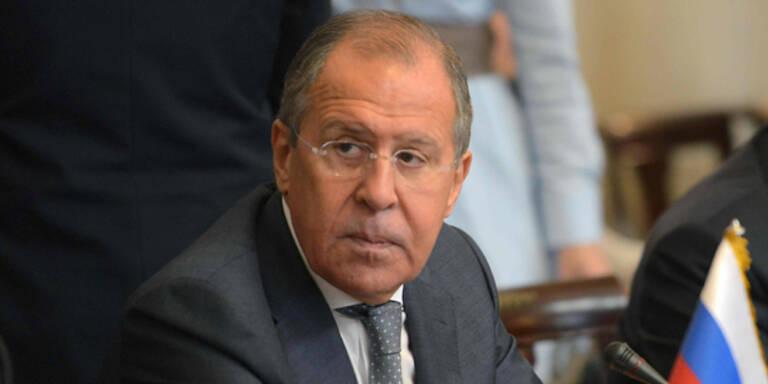 """Russischer Außenminister: """"USA haben Völkerrecht gebrochen"""""""