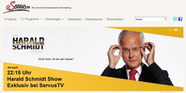 Verwirrung um Schmidt- Show bei ServusTV