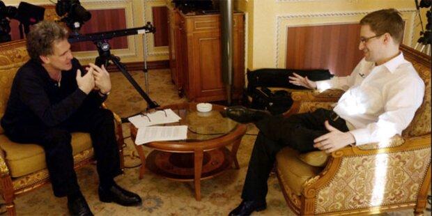 Snowdens erstes Interview im TV