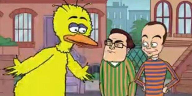 TBBT: Sheldon & Leonard ziehen in Sesamstraße