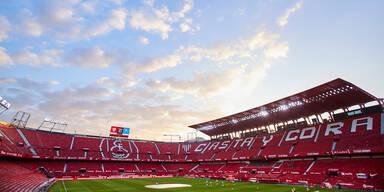 Estadio Ramón Sánchez Pizjuán in Sevilla