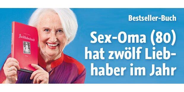 Sex-Oma (80) hatte 12 Liebhaber im Jahr