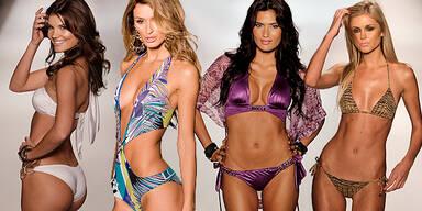 Sexy Bikinis: Knapp und Bunt Miami Beachwear