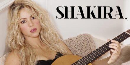"""Erstes Album """"Shakira"""" nach 3 Jahren."""