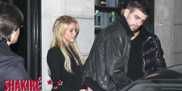 Shakira turtelt mit Gerard Pique