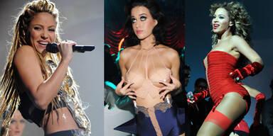 Shakira, Katy Perry & Beyonce Knowles: Die Stars der MTV Europe Music Awards emas
