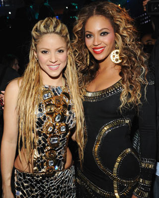 Shakira und Beyoncé bei den MTV Awards in Berlin