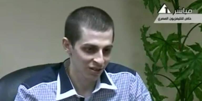 Gilad Shalit kehrt nach Entführung heim